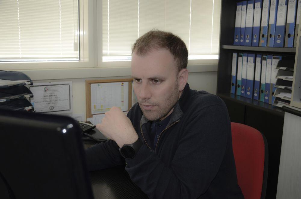 Ing. Luca Lorenzo Responsabile Ufficio Logistica Avanzata